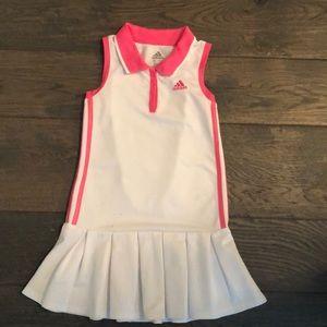 Adidas girls tennis dress size 6